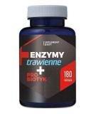 HEPATICA Digestive Enzymes + Probiotic 180 caps.