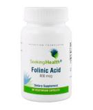 SEEKING HEALTH Folinic Acid 800mcg 60 caps.