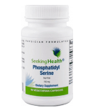 SEEKING HEALTH Phosphatidyl Serine 100mg 60 caps.