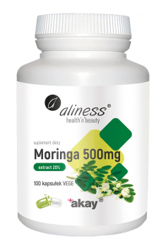 Moringa extract 20% 500mg