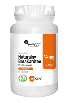 Natural BetaCarotene 14mg