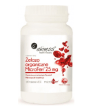 ALINESS Organic Iron MicroFerr 25mg 100 tab.