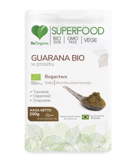 BEORGANIC Guarana BIO 200g