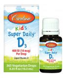 CARLSON Kid's Super Daily D3 400IU 10 ml