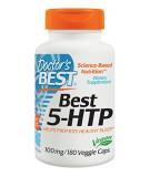 DOCTOR'S BEST Best 5-HTP 100mg 180 caps.