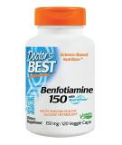 DOCTOR'S BEST Benfotiamine 150mg 120 caps.
