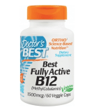 DOCTOR'S BEST Fully Active B12 60 caps.