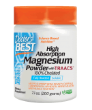 DOCTOR'S BEST High Absorption Magnesium Powder 200g