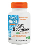 DOCTOR'S BEST Fully Active B Complex 30 caps.