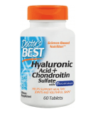 DOCTOR'S BEST Best Hyaluronic Acid with Chondroitin Sulfate 60 tab.