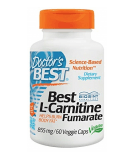 DOCTOR'S BEST Best L-Carnitine Fumarate 855mg 60 caps.