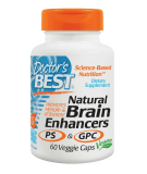 DOCTOR'S BEST Natural Brain Enhancers 60 caps.