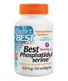 DOCTOR'S BEST Phosphatidylserine 100mg 60 softgels