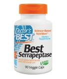DOCTOR'S BEST Serrapeptase 120.000 SPU 90 caps.
