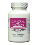 ECOLOGICAL FORMULAS Allithiamine 50mg 60 caps.