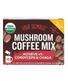 FOUR SIGMATIC Mushroom Coffee Mix with Cordyceps & Chaga 10 sach.