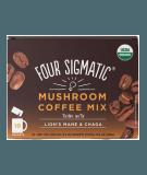FOUR SIGMATIC Mushroom Coffee Mix with Lion's Mane & Chaga 10 sach.