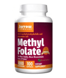 JARROW Methyl Folate 1000mcg 100 caps.