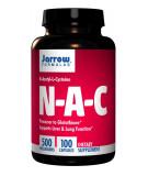 JARROW N-A-C (N-Acetyl-L-Cysteine) 500mg 100 caps.