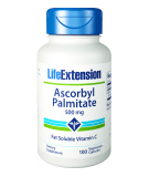 LIFE EXTENSION Ascorbyl Palmitate 500mg 100 caps.