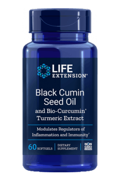 Black Cumin Seed Oil with Bio Curcumin