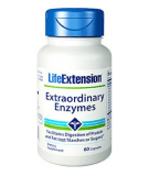 LIFE EXTENSION Extraordinary Enzymes 60 caps.
