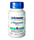 LIFE EXTENSION L-Theanine 100mg 60 caps.