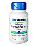 LIFE EXTENSION Mega Benfotiamine 250mg 120 caps.