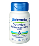 LIFE EXTENSION Optimized Ashwagandha Extract 60 caps.