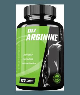 MZ-STORE Arginine HCL 120 caps.