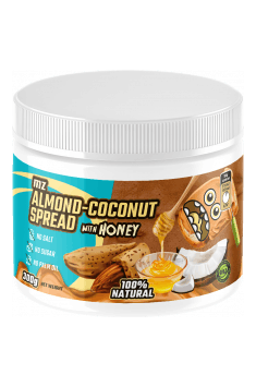 Almond-coconut cream with honey