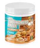 MZ-STORE Groundnuts paste with carmel & Himalayan salt 500g