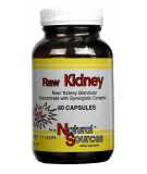 NATURAL SOURCES Raw Kidney 60 caps.