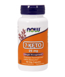 NOW FOODS 7-KETO 25mg 90 caps.