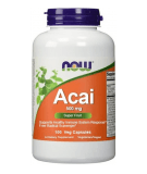 NOW FOODS Acai 500mg 100 caps.