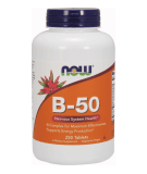 NOW FOODS B-50 250 tab.