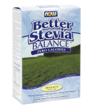 NOW FOODS Better Stevia Balance + Chromium & Inulin 110g (100 packets)