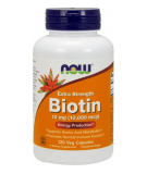 NOW FOODS Biotin 10mg 120 caps.