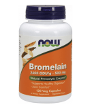 NOW FOODS Bromelain 500mg 120 caps.