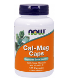 NOW FOODS Cal-Mag Caps 120 caps.