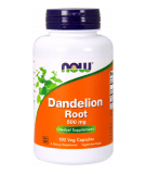 NOW FOODS Dandelion Root 500 mg 100 caps.