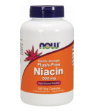 NOW FOODS Flush-Free Niacin Double Strength 500mg 180 caps.