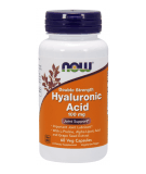 NOW FOODS Hyaluronic Acid Double Strength 100mg 60 caps.