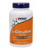 NOW FOODS L-Citrulline 750mg 180 caps.