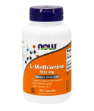 NOW FOODS L-Methionine 500mg 100 caps.
