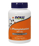 NOW FOODS L-Phenylalanine 500mg 120 caps.