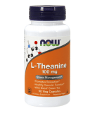 NOW FOODS L-Theanine 100mg 90 caps.