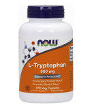 NOW FOODS L-Tryptophan 500mg 120 caps.