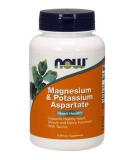 NOW FOODS Magnesium & Potassium Aspartate 120 caps.