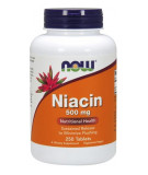 NOW FOODS Niacin 500mg 250 tab.
